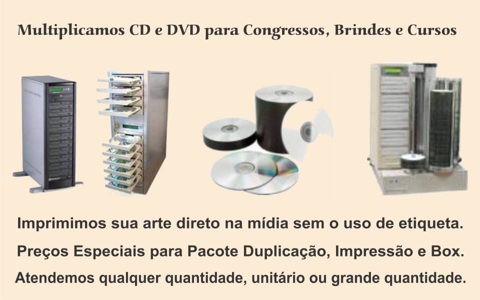 cópia de cd e dvd